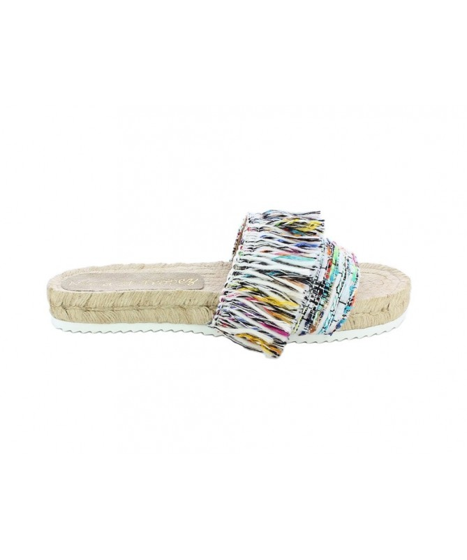 Espadrille mule tweed by Malhia Kent