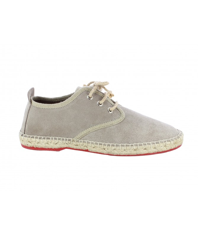 Espadrille Derby with bootlace