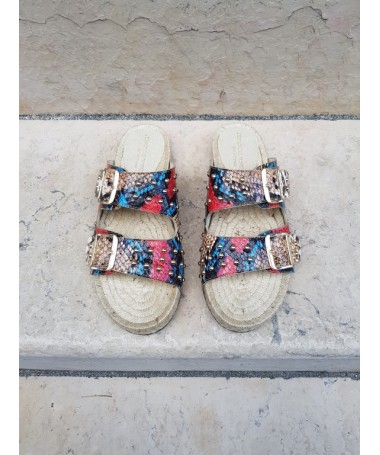 Women's Espadrille Sand sandal with studs